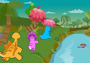 Dino Buddies 19: The Log