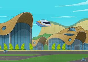 Space Patrol, Mission to Race School 3: Race School