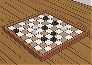 Puss in Boots 17: A Game of Checkers