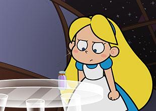 Alice's Adventures in Wonderland 2: A Strange Drink