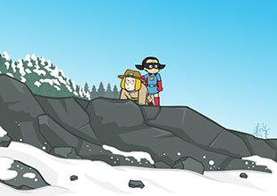 Rocket Girl's Journey to the West 9: Into the Mountains