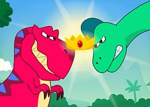 Tyrannosaurus or Brachiosaurus?
